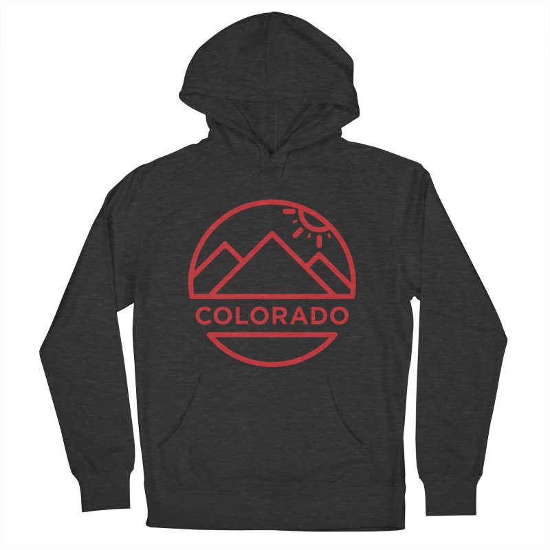 Explore Colorado Men's French Terry Pullover Hoody by BMaw's Artist Shop