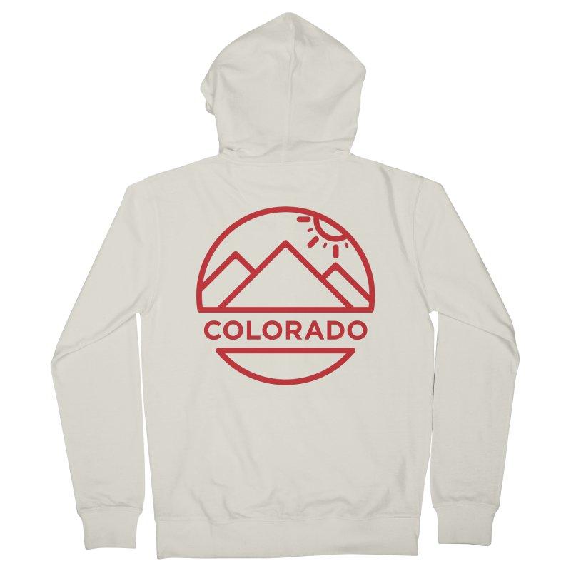 Explore Colorado Women's Zip-Up Hoody by BMaw's Artist Shop