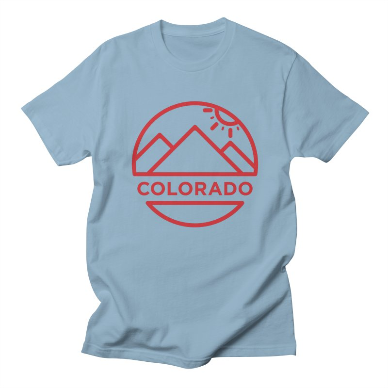 Explore Colorado Men's Regular T-Shirt by BMaw's Artist Shop
