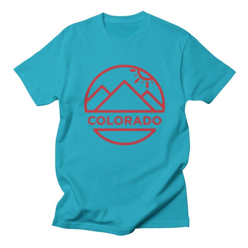 Explore Colorado Men's T-Shirt by BMaw's Artist Shop