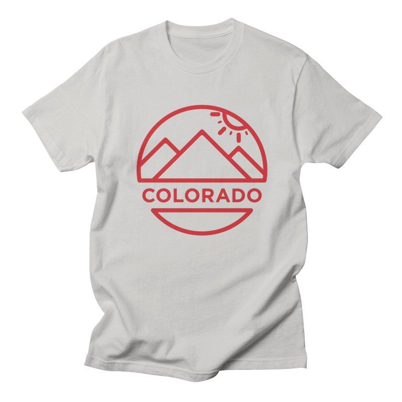 Explore Colorado Men's Regular T-Shirt by BMaw's Artist Shop