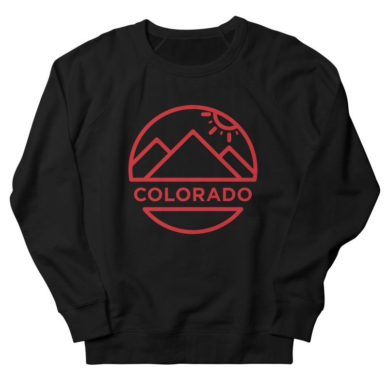 Explore Colorado Women's French Terry Sweatshirt by BMaw's Artist Shop
