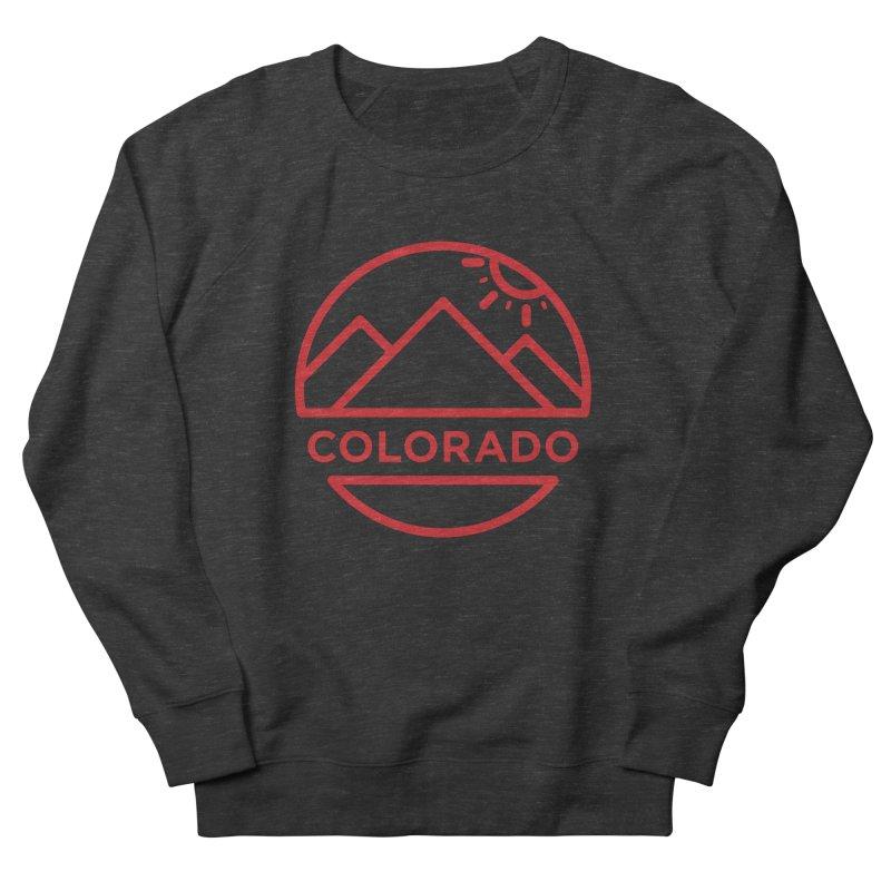 Explore Colorado Men's French Terry Sweatshirt by BMaw's Artist Shop