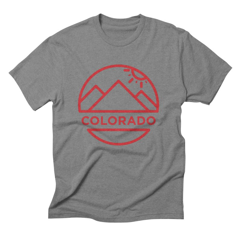 Explore Colorado Men's Triblend T-Shirt by BMaw's Artist Shop