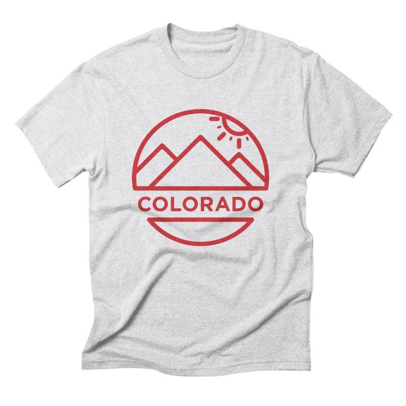 Explore Colorado Men's Triblend T-Shirt by BMaw's Artist Shop