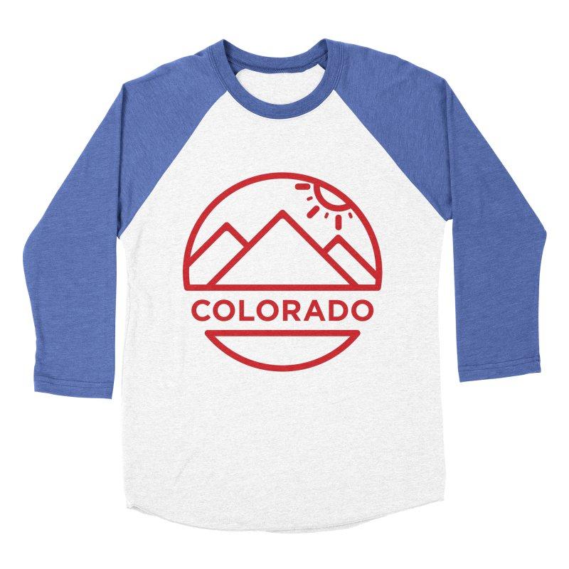 Explore Colorado Men's Baseball Triblend T-Shirt by BMaw's Artist Shop
