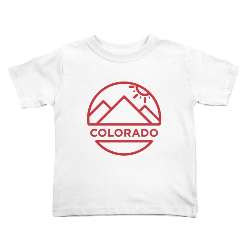 Explore Colorado Kids Toddler T-Shirt by BMaw's Artist Shop