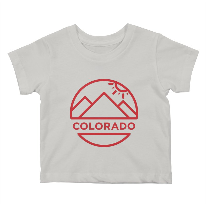 Explore Colorado Kids Baby T-Shirt by BMaw's Artist Shop