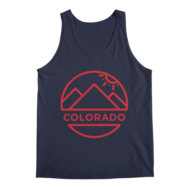Explore Colorado Men's Regular Tank by BMaw's Artist Shop