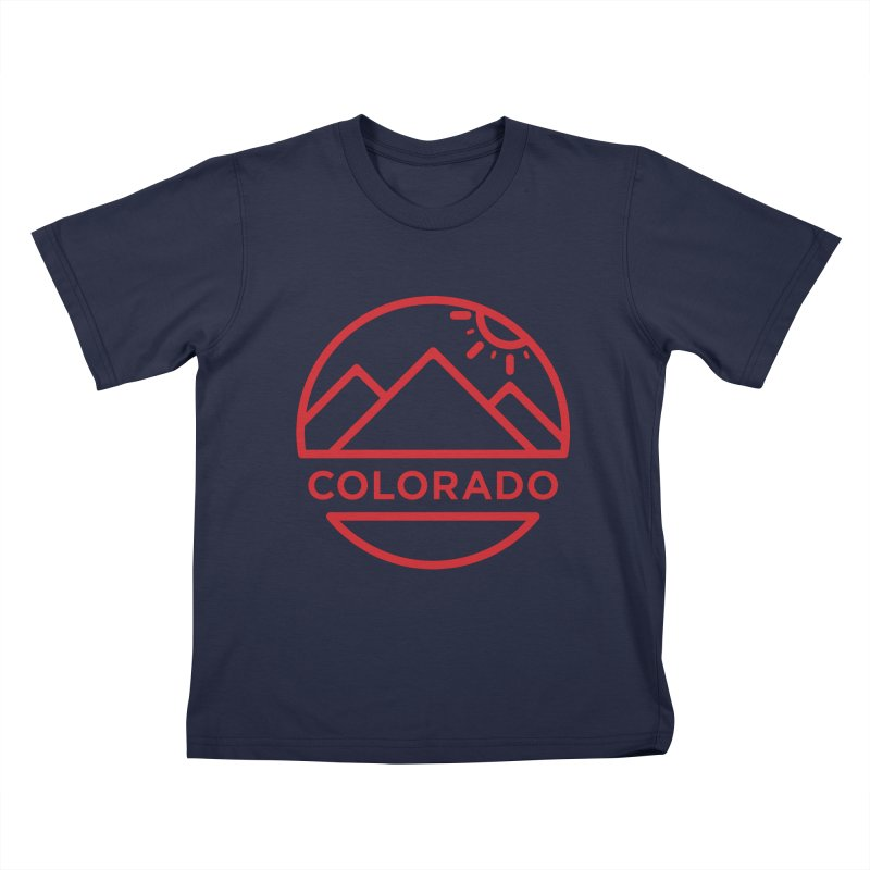 Explore Colorado Kids T-Shirt by BMaw's Artist Shop