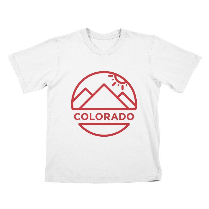 Explore Colorado Kids T-Shirt by BMaw's Artist Shop