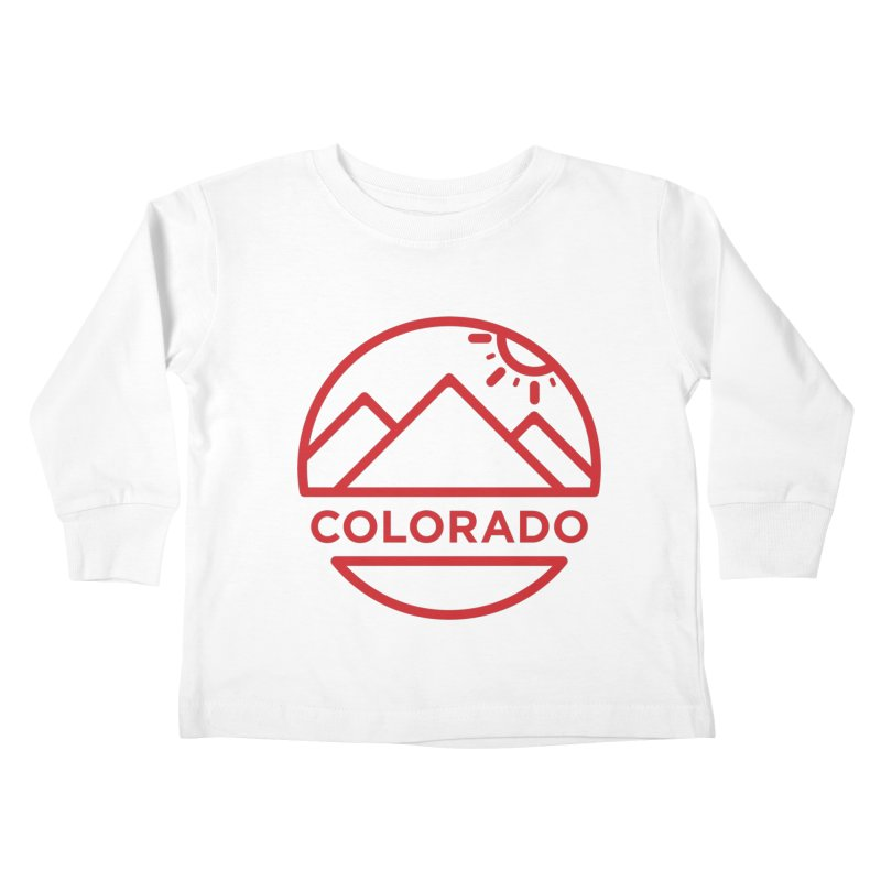 Explore Colorado Kids Toddler Longsleeve T-Shirt by BMaw's Artist Shop