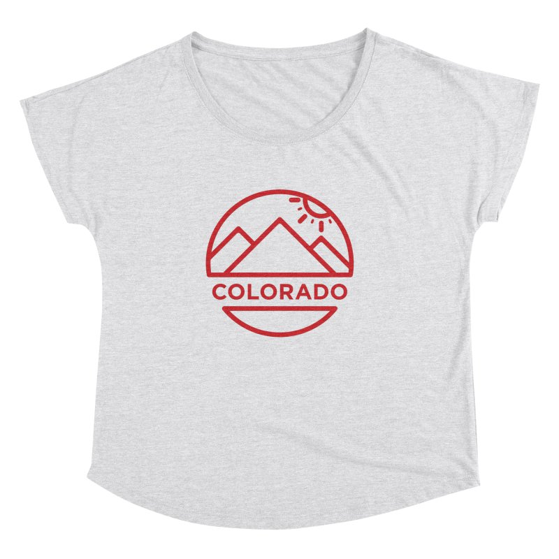 Explore Colorado Women's Dolman Scoop Neck by BMaw's Artist Shop