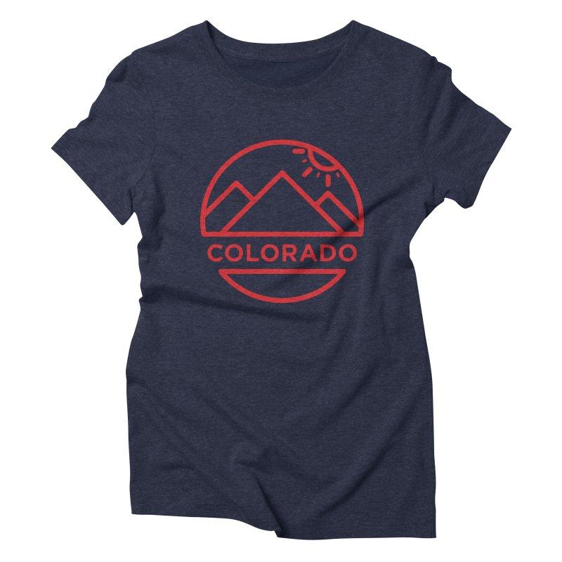 Explore Colorado Women's Triblend T-Shirt by BMaw's Artist Shop