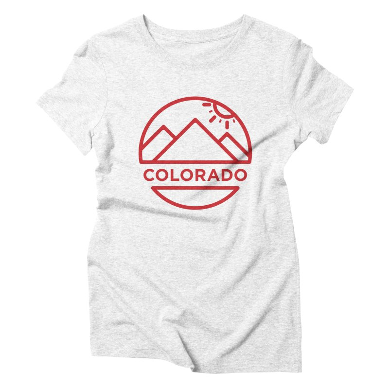 Explore Colorado Women's Triblend T-shirt by BMaw's Artist Shop
