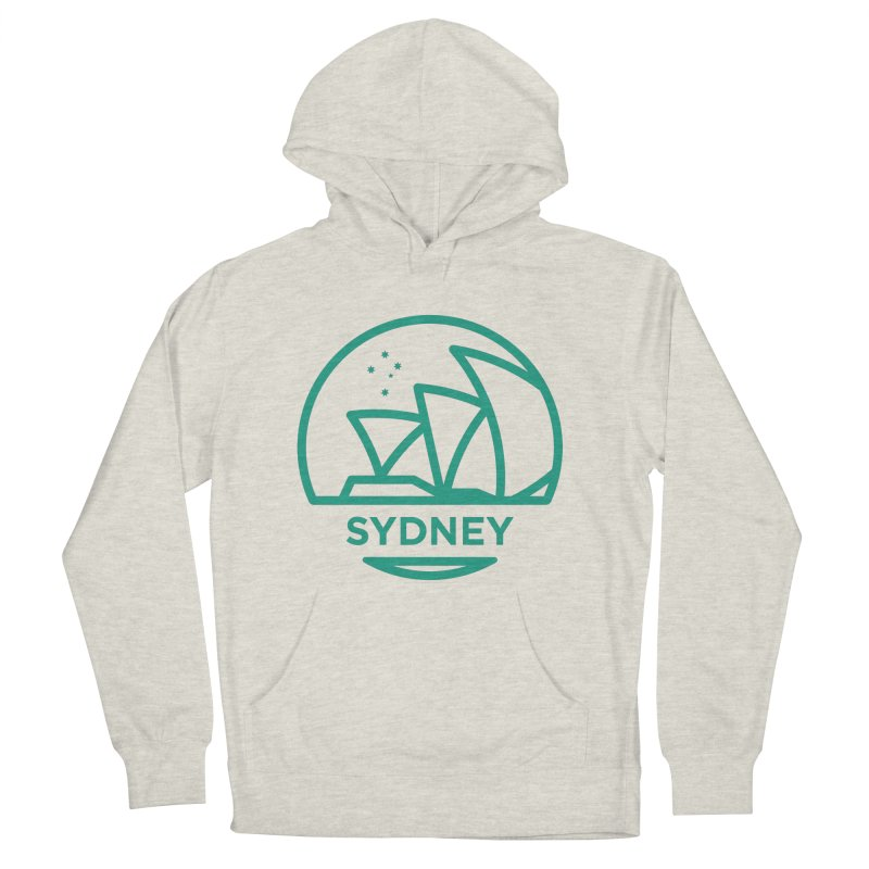 Sydney Harbor Women's French Terry Pullover Hoody by BMaw's Artist Shop