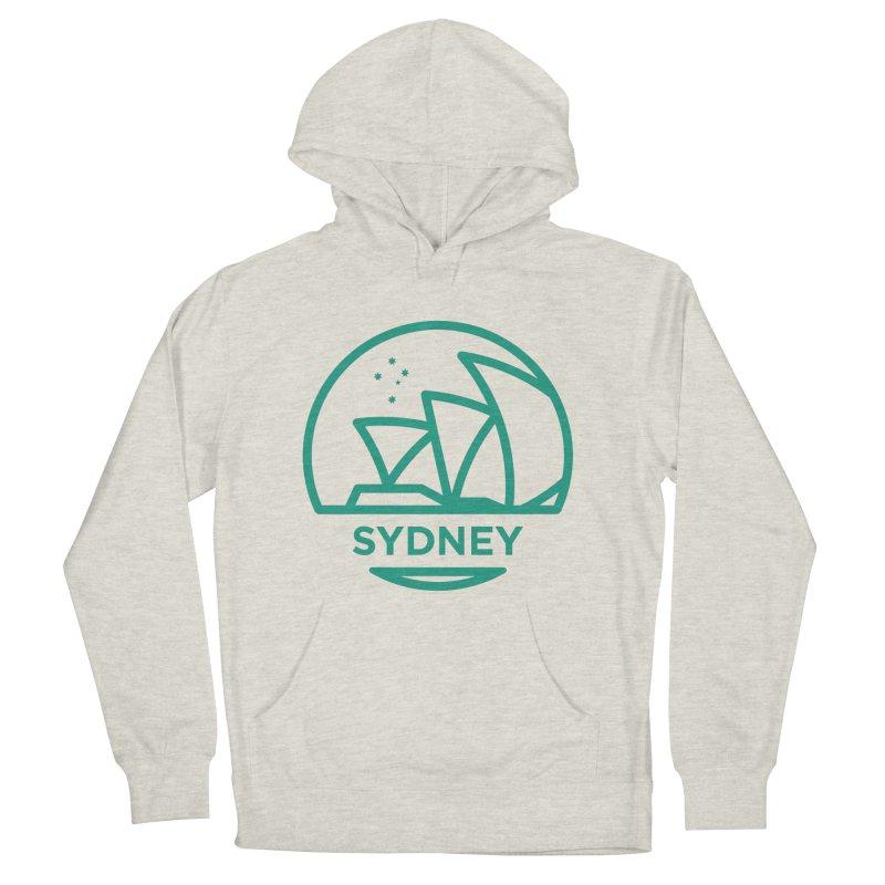 Sydney Harbor Men's Pullover Hoody by BMaw's Artist Shop