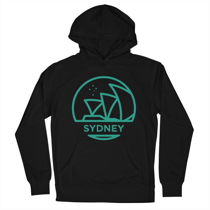 Sydney Harbor Men's French Terry Pullover Hoody by BMaw's Artist Shop