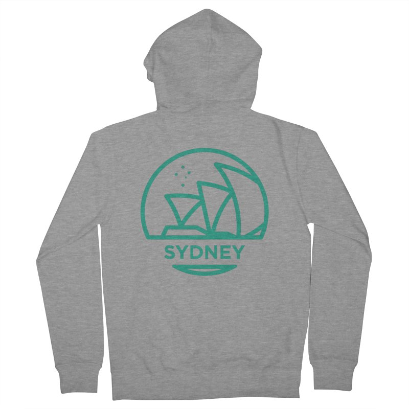 Sydney Harbor Women's Zip-Up Hoody by BMaw's Artist Shop