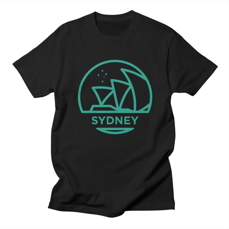 Sydney Harbor Men's Regular T-Shirt by BMaw's Artist Shop