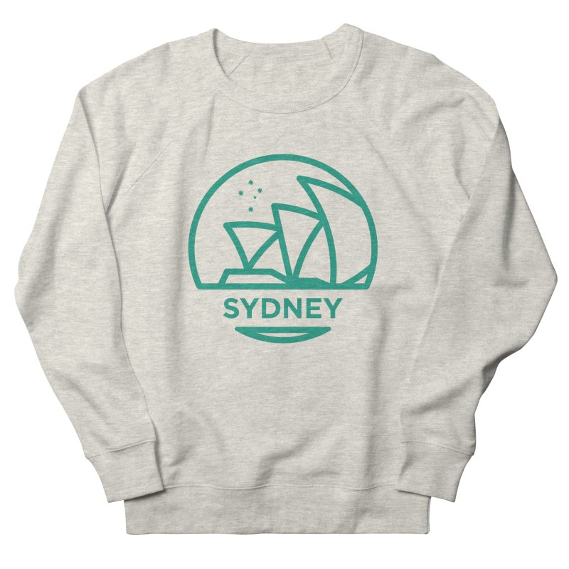 Sydney Harbor Men's French Terry Sweatshirt by BMaw's Artist Shop