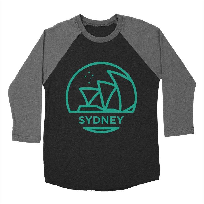 Sydney Harbor Women's Baseball Triblend Longsleeve T-Shirt by BMaw's Artist Shop