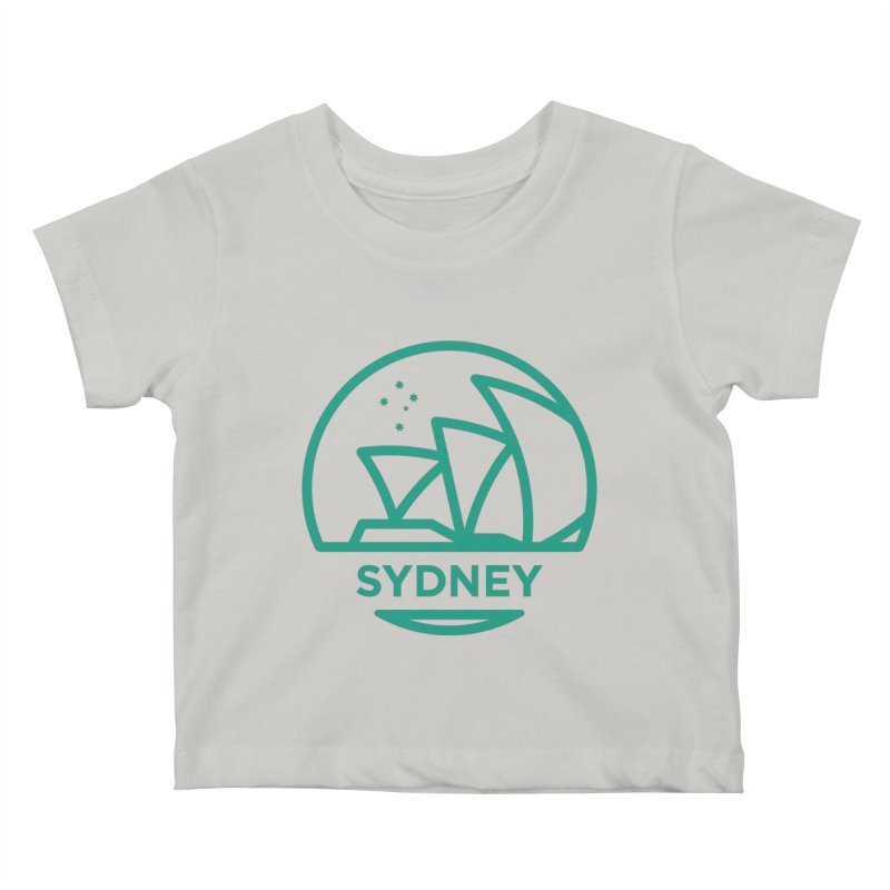 Sydney Harbor Kids Baby T-Shirt by BMaw's Artist Shop