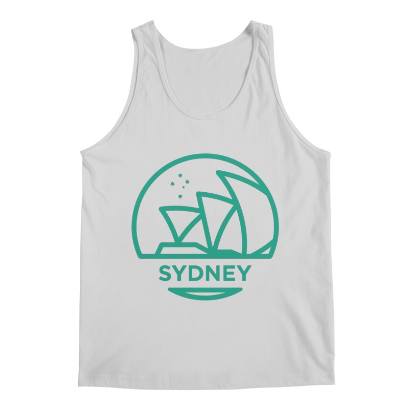Sydney Harbor Men's Regular Tank by BMaw's Artist Shop