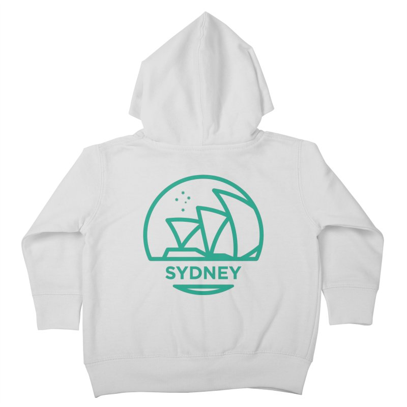 Sydney Harbor Kids Toddler Zip-Up Hoody by BMaw's Artist Shop