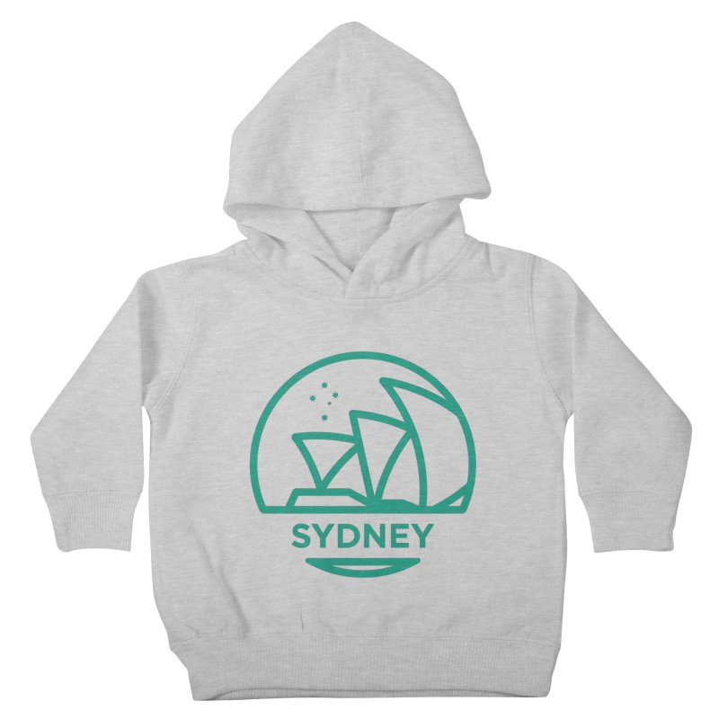 Sydney Harbor Kids Toddler Pullover Hoody by BMaw's Artist Shop