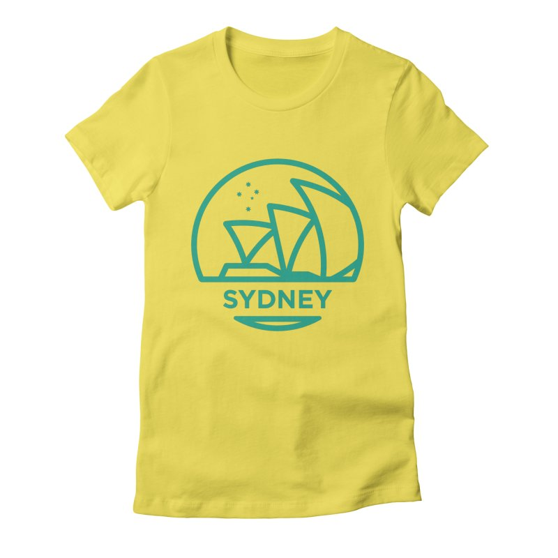 Sydney Harbor Women's T-Shirt by BMaw's Artist Shop