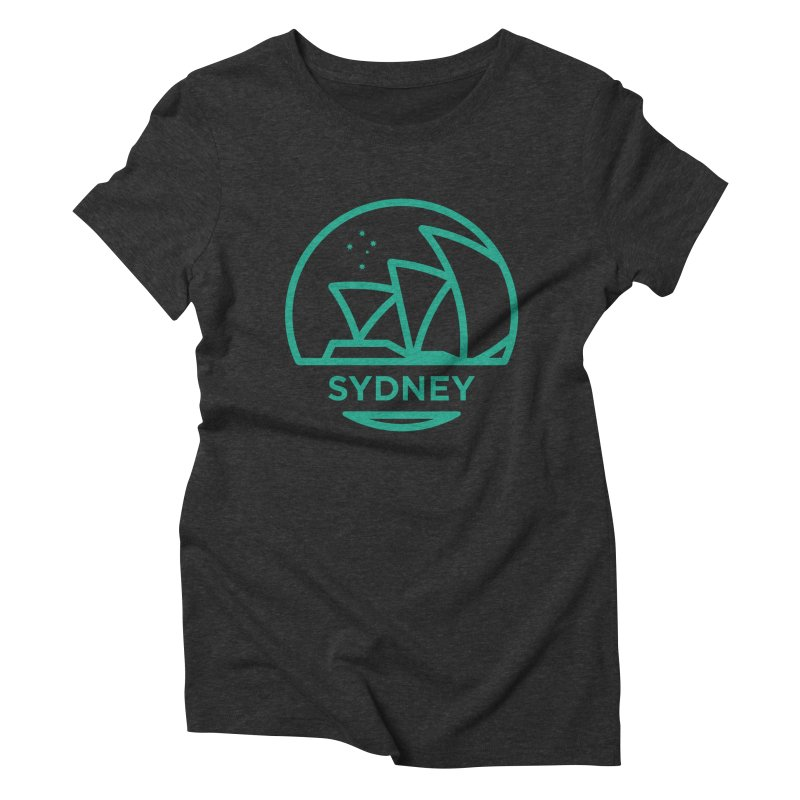Sydney Harbor Women's Triblend T-Shirt by BMaw's Artist Shop