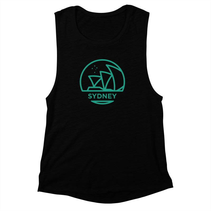 Sydney Harbor Women's Muscle Tank by BMaw's Artist Shop