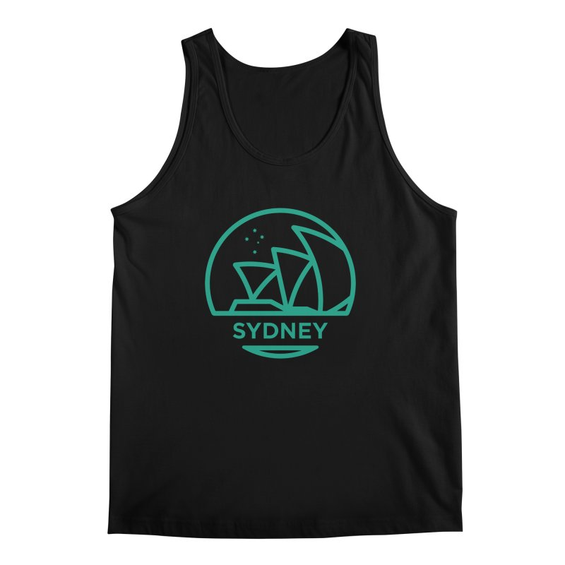 Sydney Harbor Men's Tank by BMaw's Artist Shop