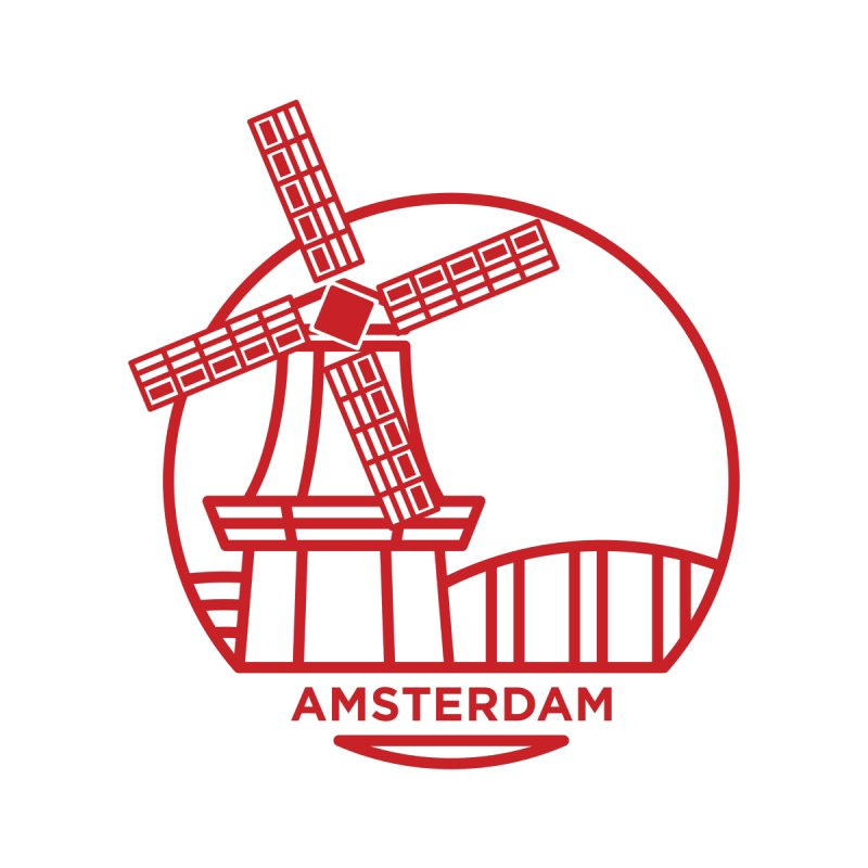 Amsterdam Mill None  by BMaw's Artist Shop