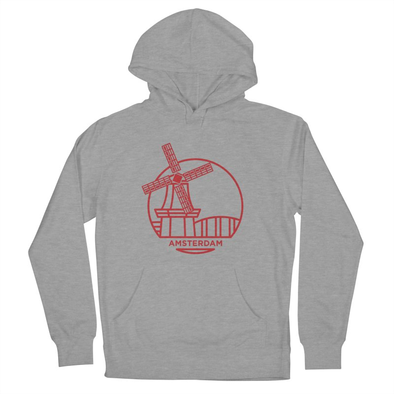 Amsterdam Mill Men's Pullover Hoody by BMaw's Artist Shop