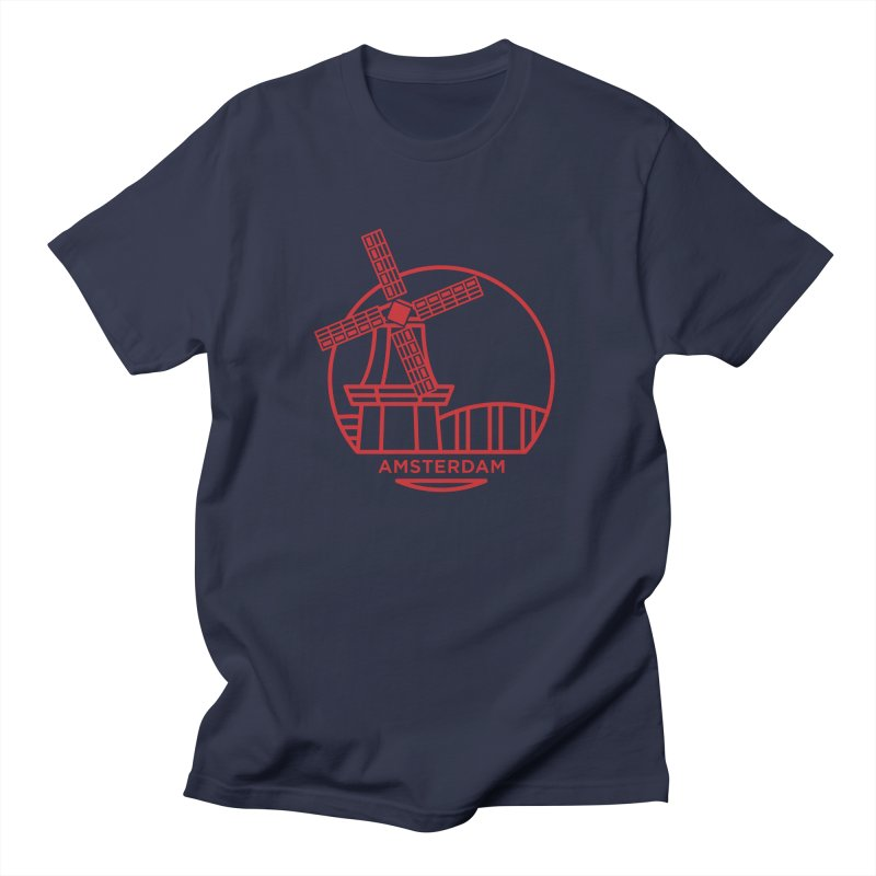 Amsterdam Mill Men's Regular T-Shirt by BMaw's Artist Shop