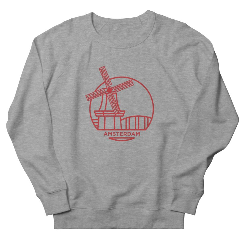 Amsterdam Mill Women's Sweatshirt by BMaw's Artist Shop