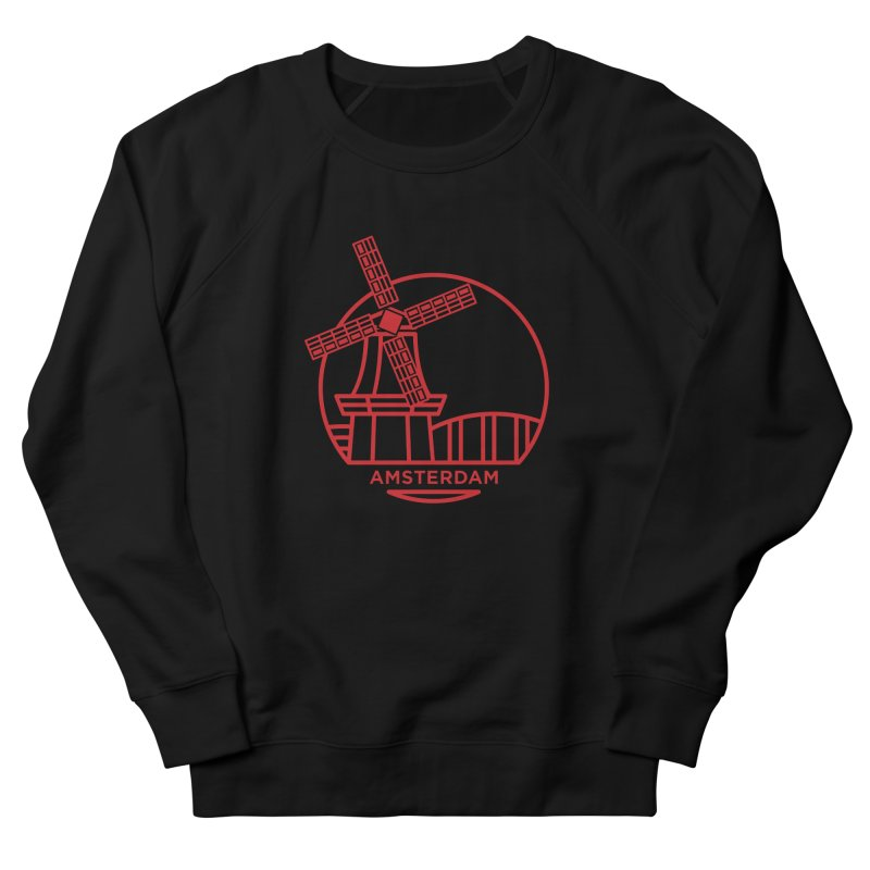 Amsterdam Mill Men's French Terry Sweatshirt by BMaw's Artist Shop