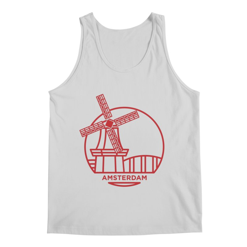 Amsterdam Mill Men's Regular Tank by BMaw's Artist Shop
