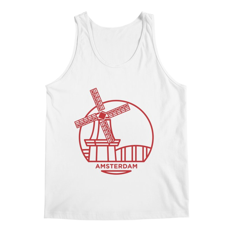 Amsterdam Mill Men's Tank by BMaw's Artist Shop