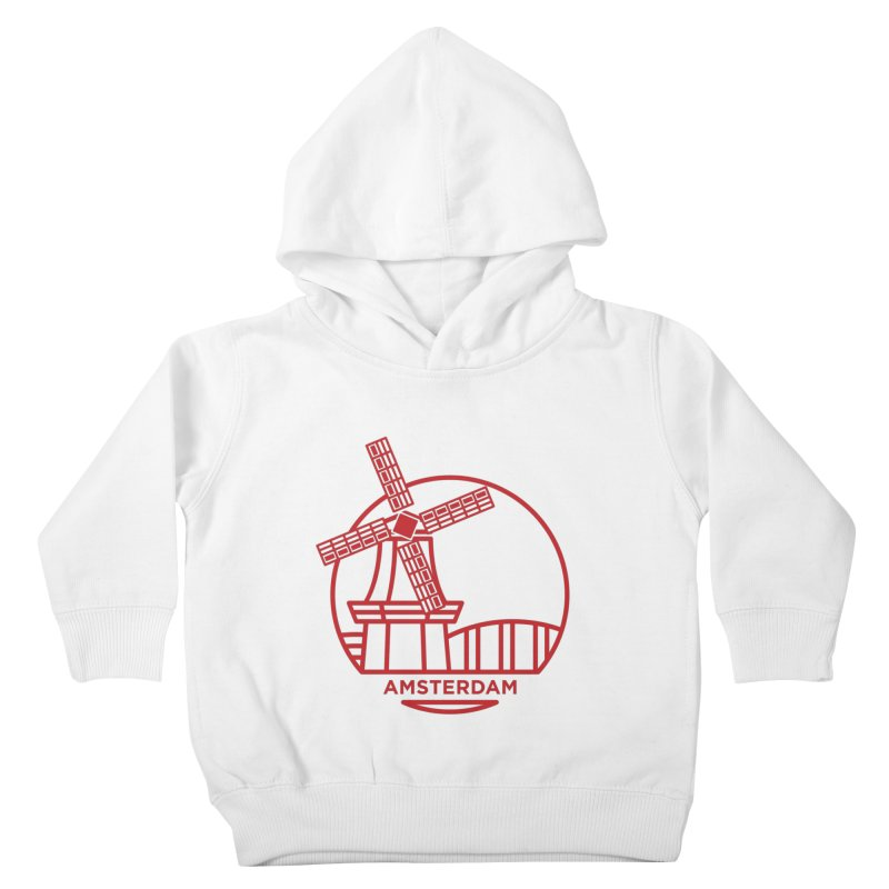 Amsterdam Mill Kids Toddler Pullover Hoody by BMaw's Artist Shop