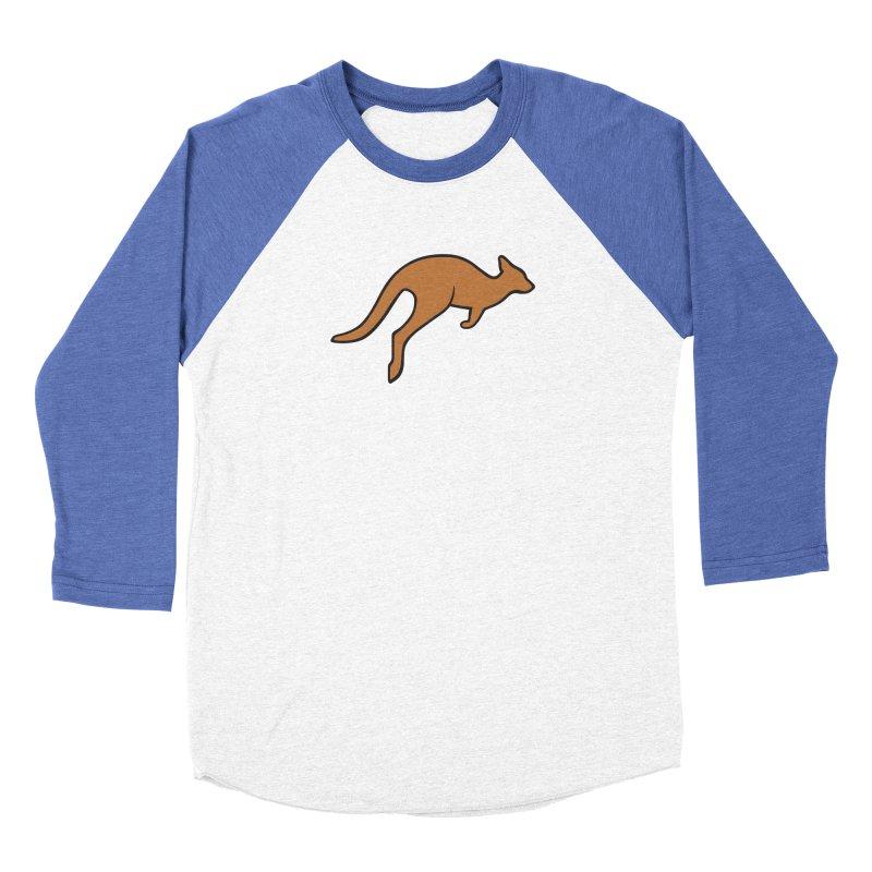 Jumping Kangaroo Men's Longsleeve T-Shirt by BMaw's Artist Shop