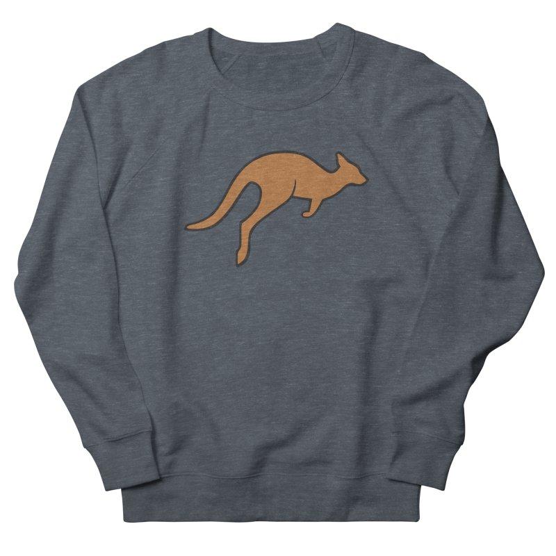 Jumping Kangaroo Women's Sweatshirt by BMaw's Artist Shop