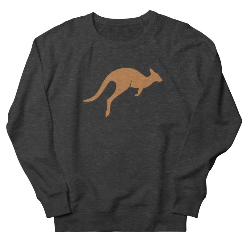 Jumping Kangaroo Men's Sweatshirt by BMaw's Artist Shop