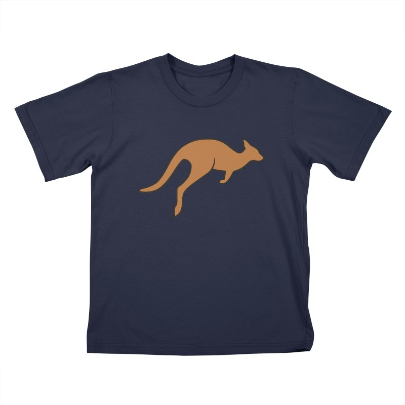 Jumping Kangaroo Kids T-shirt by BMaw's Artist Shop