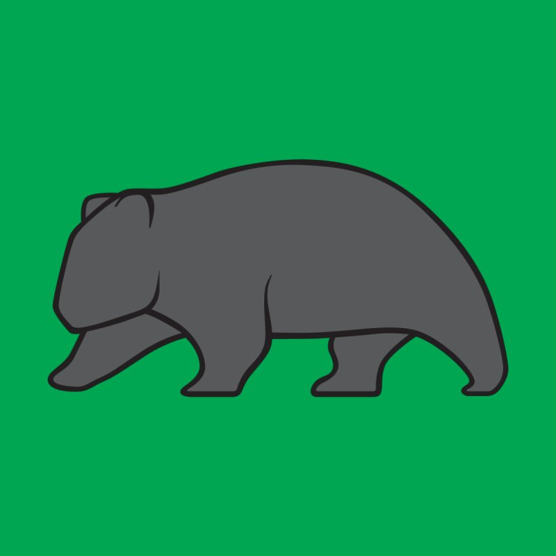 Wary Wombat None  by BMaw's Artist Shop