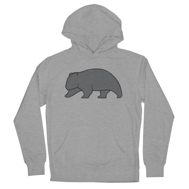 Wary Wombat Women's Pullover Hoody by BMaw's Artist Shop