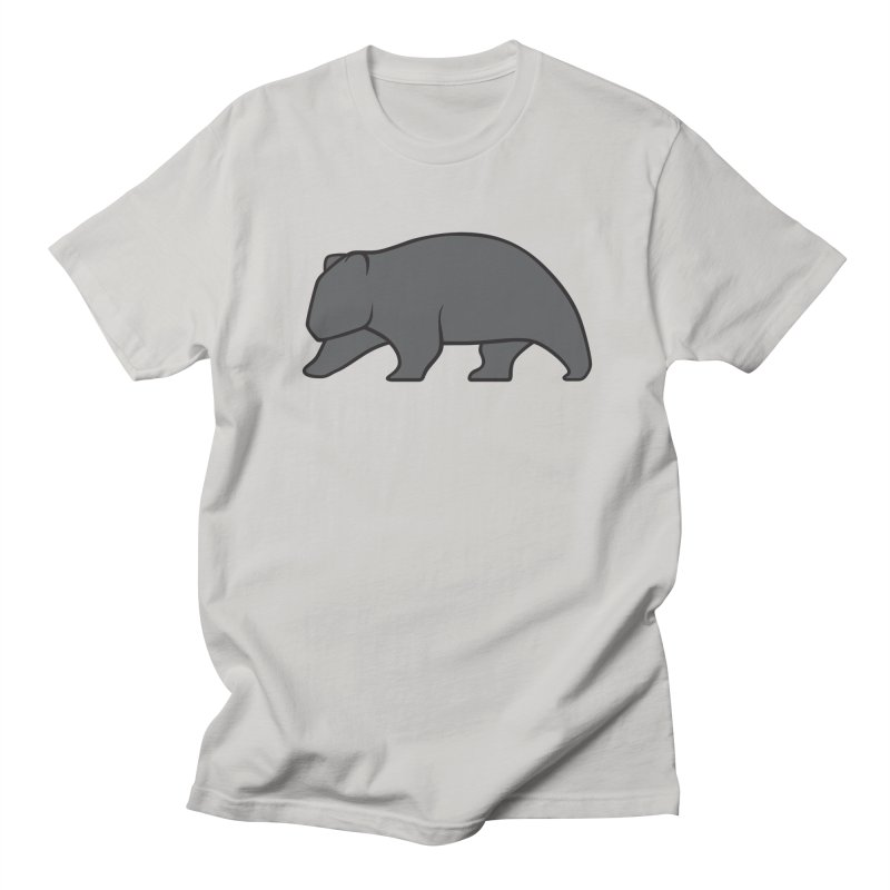 Wary Wombat Men's T-shirt by BMaw's Artist Shop