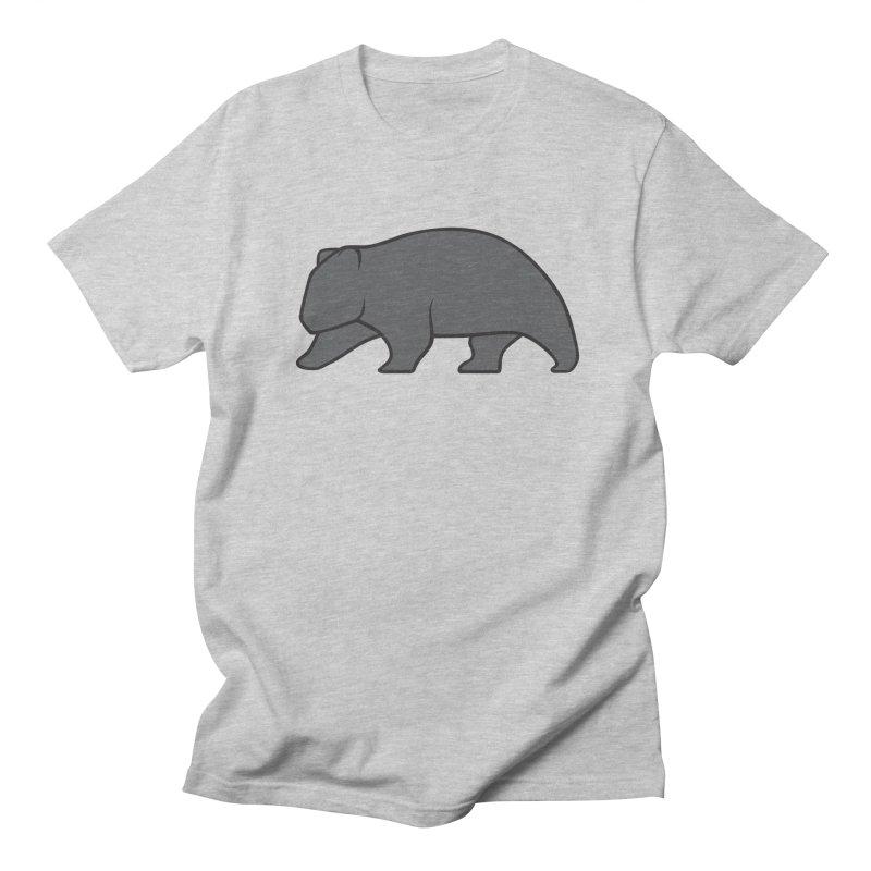 Wary Wombat Men's T-Shirt by BMaw's Artist Shop